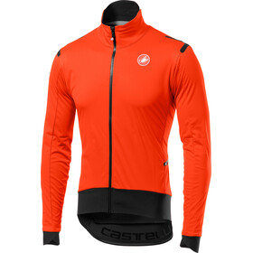 Castelli Alpha Ros Light Jas Heren, orange/black